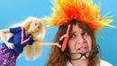 Barbie ile kuaför oyunu. Mufettiş Sema - eğlenceli video