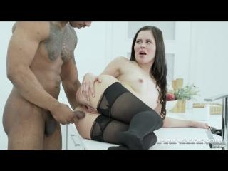 Cassie fire - cassie wears lingerie for an interracial anal (19.06.18)