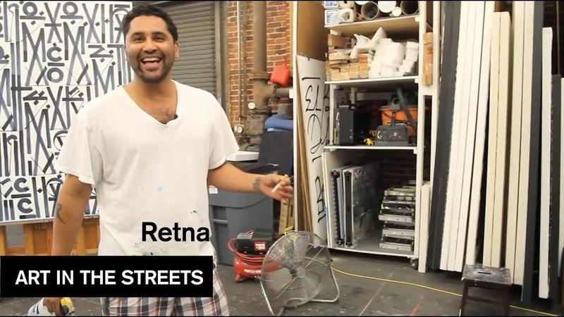 RETNA Art in the Streets MOCAtv Ep 6