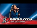 Joana Carvalhas - Alfama | Prova Cega | The Voice Portugal