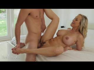 [puremature.com] brandi love (sexy stepmother plays muse / 10.04.2018) [all sex, milf, blonde, blowjob, cowgirl, doggystyle, big