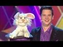 Tim Becker Bauchredner mit Zauberhase bei Hessen lacht zur Fassenacht 2017
