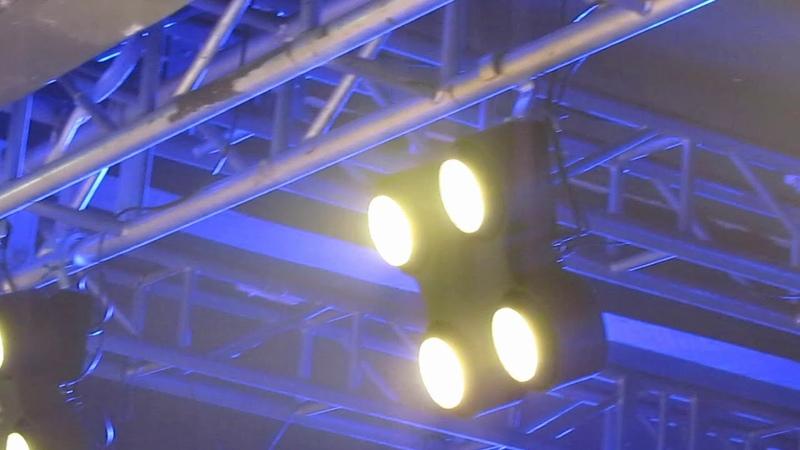 4 Eyes LED 4Pcs 100W Warm White COB Audience Blinder Light