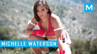 Michelle Waterson Karate & Conditioning Training | Muscle Madness