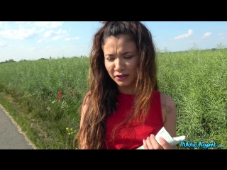 Publicagent jade presley sexy spanish fuck in field for cash new porn 2018