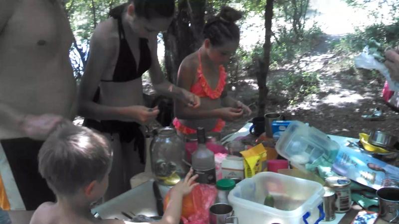 Приготовление мятного лимонада