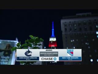 NHL 2018-2019 / RS /  / Vancouver Canucks vs New York Rangers