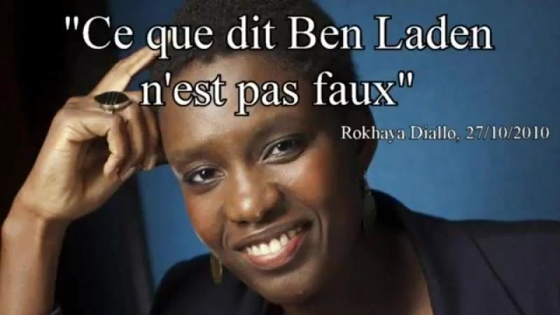 Quand Rokhaya Diallo faisait l'apologie de certains propos de Ben Laden