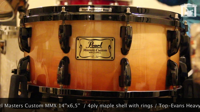 Pearl Masters Custom MMX snare 14x6,5