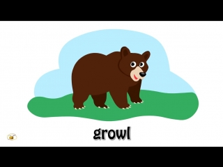 Animal sounds cartoon for kids toddlers children to learn. first words flash cards. part 2