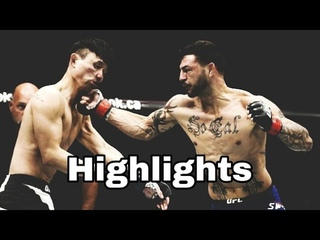 Cub Swanson Vs Doo Ho Choi (FIGHT HIGHLIGHTS) - Fight Of The Year