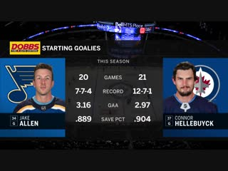 NHL 2018-2019 / RS /  / St. Louis Blues - Winnipeg Jets