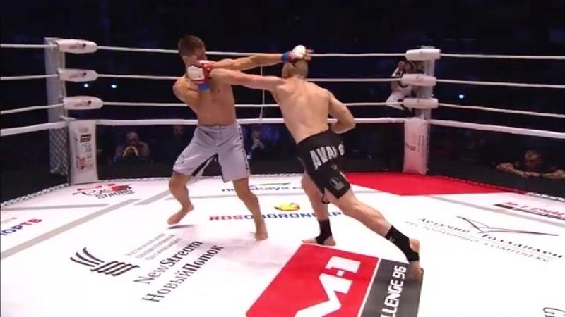 M1Challenge96. Видео боя Тихонюк - Медведев