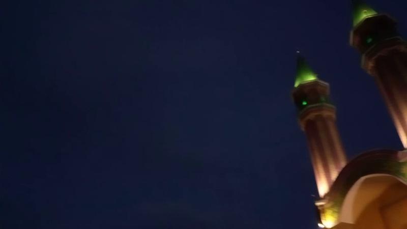 Салют в мечети Тынычлык