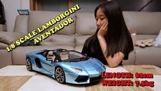 Pocher 1/8 scale Lamborgini aventador Roadster FINISHFULL BUILD