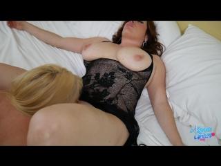 Maggie green, karen fisher - bad date caught spying [brunette, milf, big tits, blonde, lesbian, 1080p]