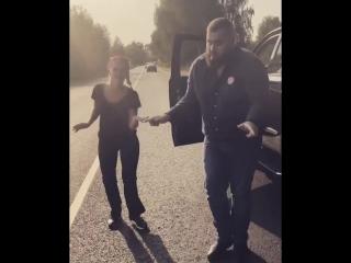 Оксана Яковлева (Yaxana) танцует с мужем, депутатом Алексеем Яковлевым сент.2018