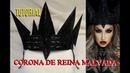 TUTORIAL - 👑 CORONA de la REINA MALVADA Evil Queen Crown tutorial | auroramakeup