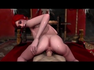 The Witcher Triss Merigold Night Sex