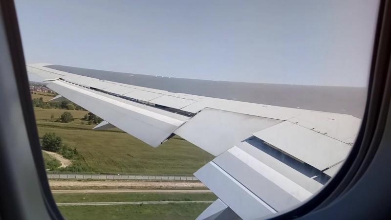 Boeing 767-300ER Взлет