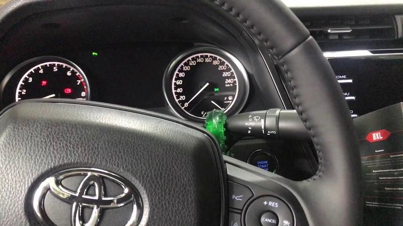 Сигнализация без дополнительного брелока на Toyota Camry. Защита от угона при помощи PRIZRAK-8XL