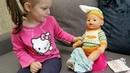 Новый дом для куклы БЕБИ БОН Эмилия КАК МАМА для Куклы Baby Born Видео для детей