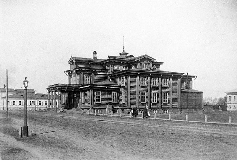 Деревянные здания старой Вятки. 7 утраченных шедевров архитектуры., изображение №27