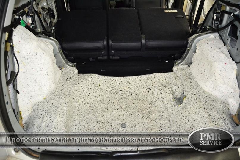 Шумоизоляция Honda CRV, изображение №14