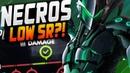 NECROS PLAYS AS GENJI - HUGE SR! ROLE LOCK QUEUE! Damage Placements! OVERWATCH SEASON 18!