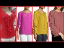 Top Designs for blouses beautyful stylish Short Shirts Designs