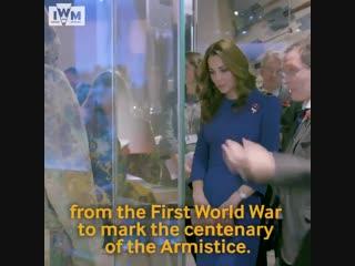 Визит Кэтрин в Имперский военный музей, 31.10.2018 (видео музея)