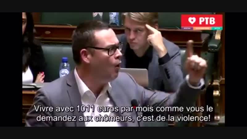 RAOUL HEDEBOUW DEPUTE BELGE LE MOUVEMENT DES GILETSJAUNES VA S'ÉLARGIR DANS TOUTE L'EUROPE VOUS N'AVEZ ENCORE RIEN VU