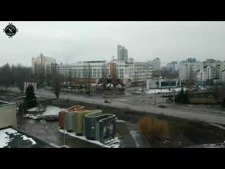 """Панорама с заброшенной гостиницы """"Турист"""""""
