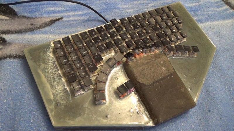 Сравнение обычной Клавиатуры с Игровой Sneik Battel Control