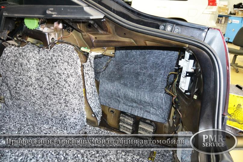 Комплексная шумоизоляция Skoda Octavia A5, изображение №11