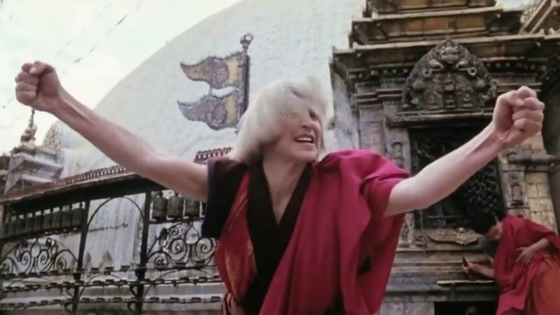 Tai yang zhi zi Prince of the Sun 1990 Cynthia Rothrock vs monks Синтия Ротрок против монахов
