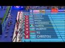 Men's 50m backstroke - Kolesnikov and Rylov