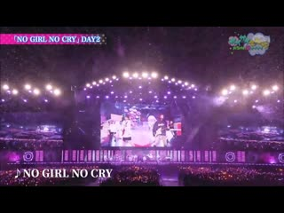 [battle live no girl no cry] poppin' party × silent siren – no girl no cry
