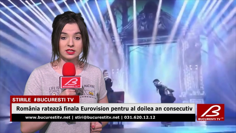 Romania rateaza finala Eurovision pentru al doilea an consecutiv