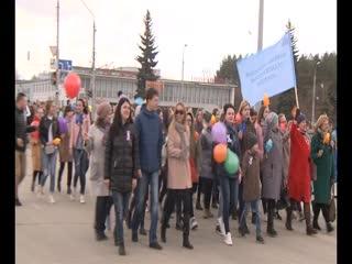 За мир и за труд! Первомайская демонстрация собрала около 15 тысяч каменцев