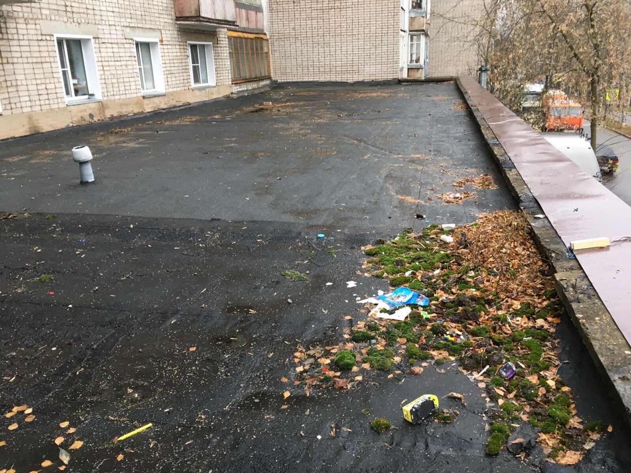Улица Добролюбова дом 10 прочистка водоотведения (сезонная