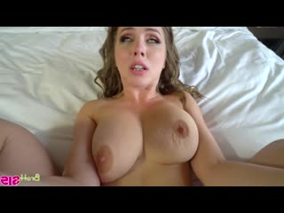 Lena paul busty step sister [all sex, hairy pussy, brunette, blowjoob, creampie, pov, deep throat, titty fuck]