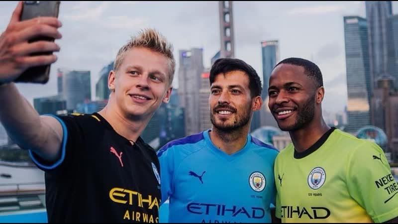 Зинченко, Стерлинг и Давид Сильва представили три новых комплекта игровой формы на предстоящий сезон 2019/20