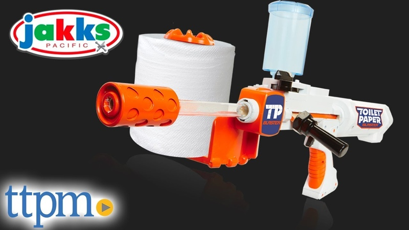 Toilet Paper Blaster Skid Shot from Jakks Pacific