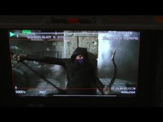 Robin hood — taron egerton training