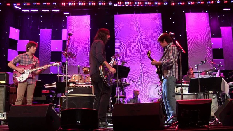 Exclusive Rehearsal: John Fogerty Foo Fighters - Fortunate Son (Clive Davis Pre-Grammy Gala 2014)