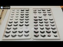 What is clear band eyelashes clear 3D mink eyelashes