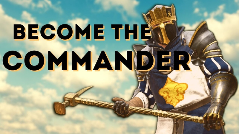 Becoming The Commander (Gameplay W/Commentary) Mordhau