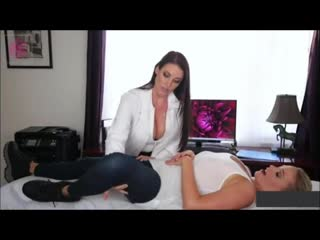 Mia Malkova and Angela White Examination