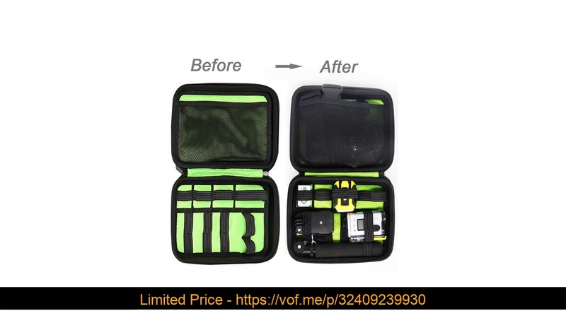 ⚡️ Shockproof Carrying Case bag for Sony Action Cam HDR-AS15 AS20 AS30V AS100V AS200V HDR-AZ1 Mini